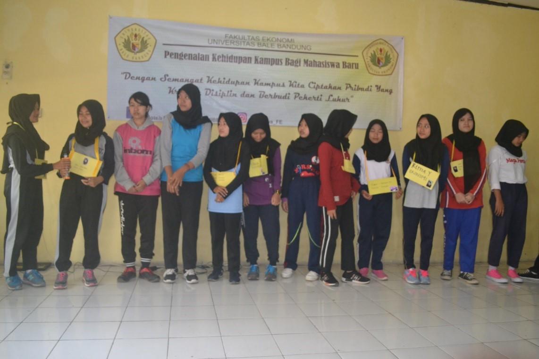 Pengenalan Kehidupan Kampus bagi Mahasiswa Baru (PKKMB) FE UNIBBA