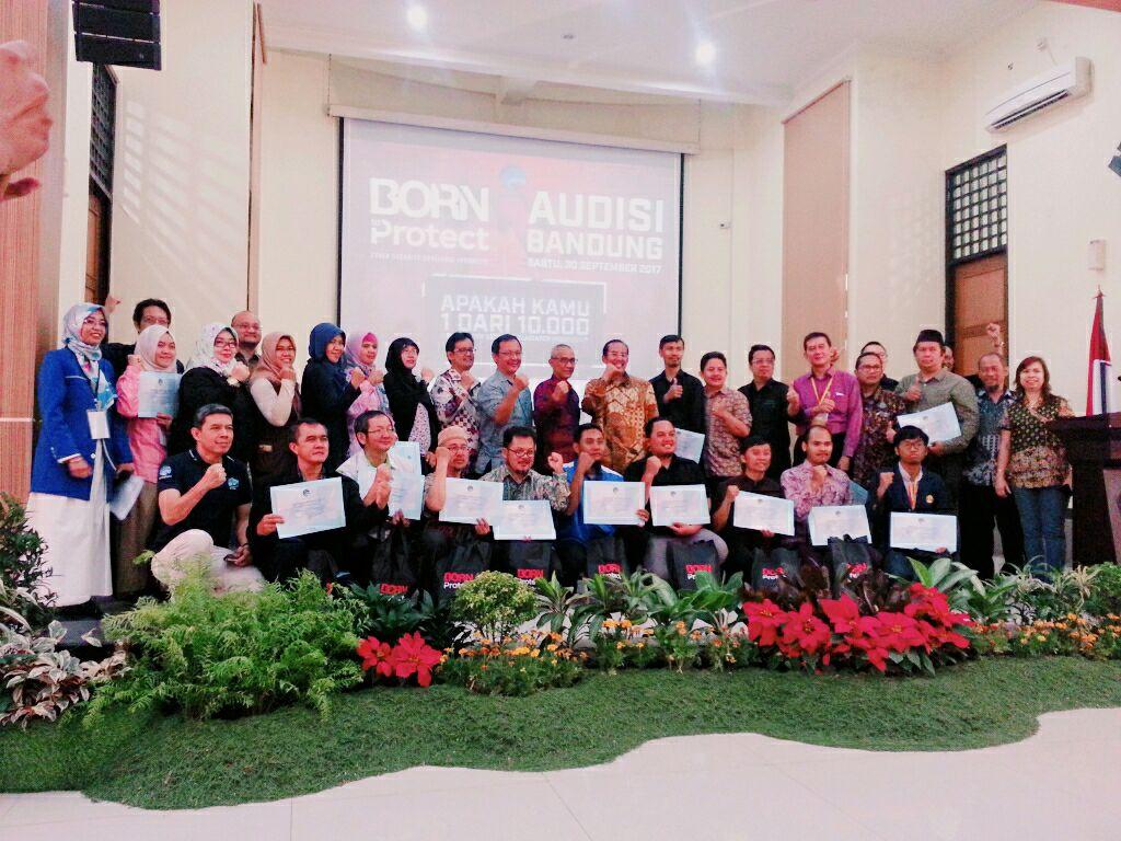 FTI on Born to Protect Audisi Bandung