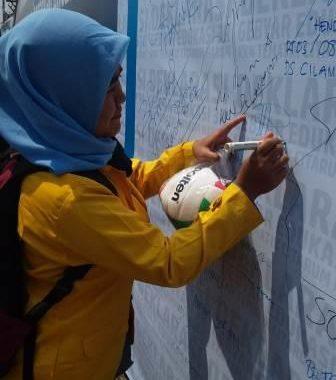 Mahasiswa UNIBBA Berpartisipasi dalam Gebyar Deklarasi Edukasi 3R (Reuse, Recycle, Reduce) KKN Tematik Citarum Harum