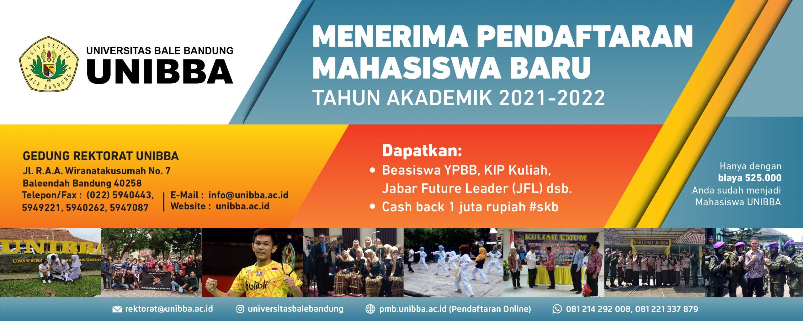 Informasi Penerimaan Mahasiswa Baru Tahun Akademik 2021/2022