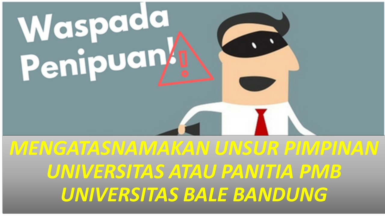 Read more about the article Hati-hati Penipuan! PMB UNIBBA