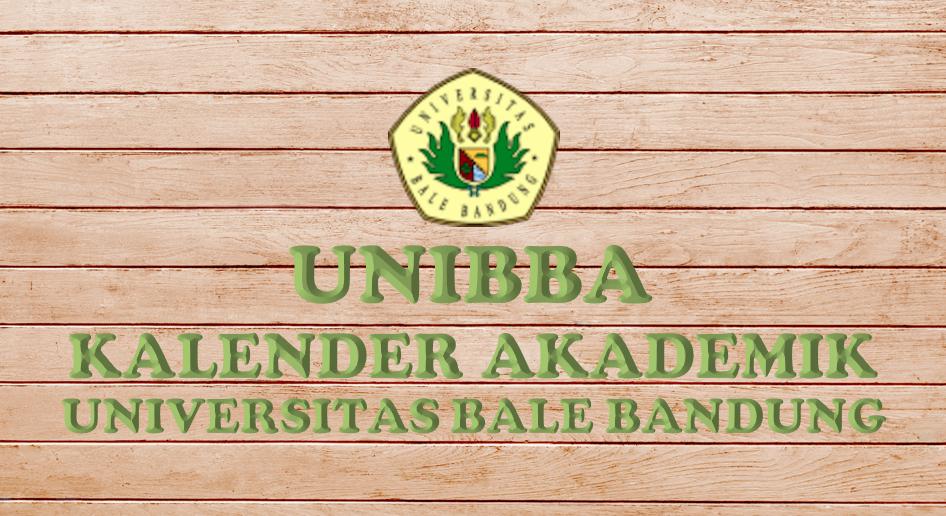 Read more about the article Kalender Akademik Universitas Bale Bandung TA 2021/2022